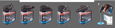 нова опаковка на маслата за мотори